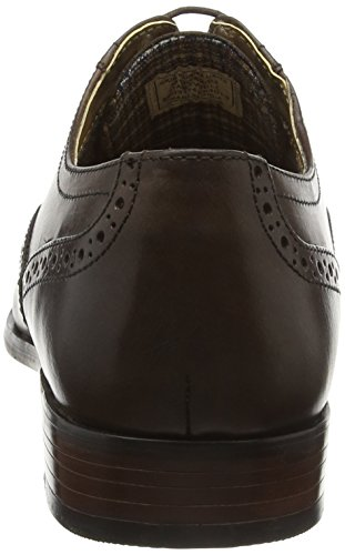 Men Marrón para Hombre Hartwell Zapatos Tape Red Brown 5qOwp65