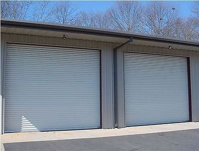 14x12 DBCI Commercial 2750 Series RollUp Door w/Hardware & Chain Hoist Insulated