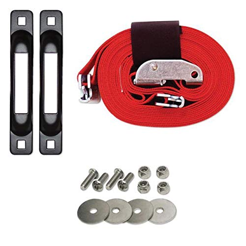 Snaplocs With Cam 2''X16' E-Strap System For Trucks And Trailers SLCECBA