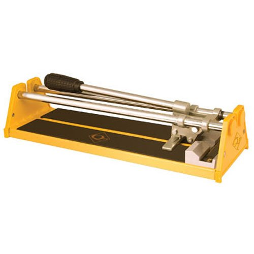 Tile Cutter, 1/2 in Cap, 14 in, Yellow (Best Ceramic Tile Cutter)