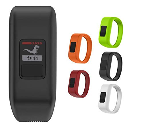 MyFitBands Band Compatible with Garmin Vivofit JR JR2 Junior Replacement Sports Wristband - Secure Watch Strap