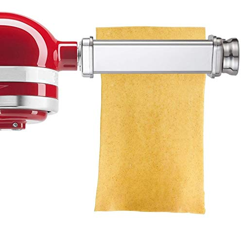 Pasta Roller Attachment for Kitchenaid Stand Mixer,Stainless Steel,Mixer Accessory by Gvode