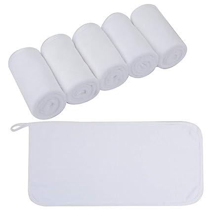 Toallitas Desmaquillantes Microfibra Lavable y Reutilizable Guante ...