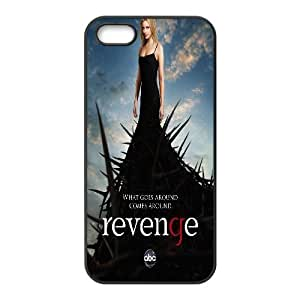 Case For Iphone 4/4S Cover Case Revenge Quotes What Goes Around Es Around, Protection Case Stevebrown5v - Black