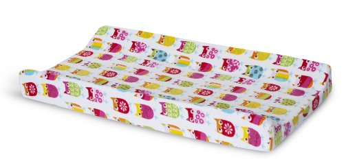 Zutano Owls Velour Changing Pad Cover, Baby & Kids Zone