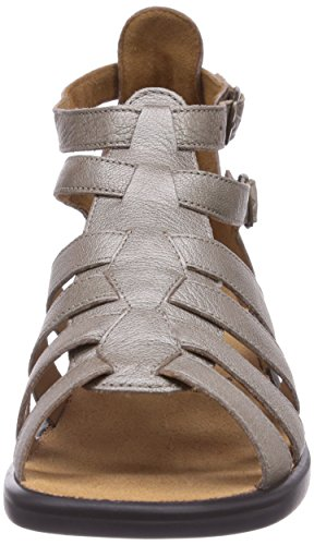 Ganter SONNICA HS, Weite E - Sandalias de vestir de cuero para mujer beige - Beige (cotton 1800)
