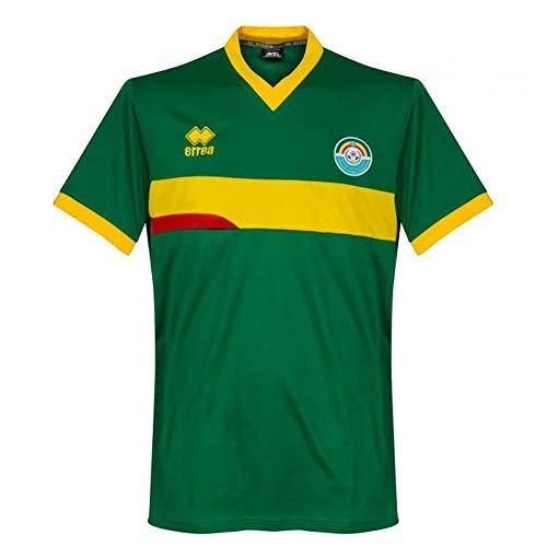 Errea 2018-2019 Ethiopia Home Football Soccer T-Shirt Jersey (Ethiopia Football)