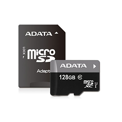 ADATA Premier 128GB microSDXC Class10 Memory Card with Adapter