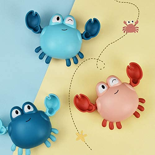 classico giocattolo per l/'acqua motivo: granchio//pinguino//balena riutilizzabile per la vasca da bagno e la piscina HFeng Giocattolo da bagno per bambini