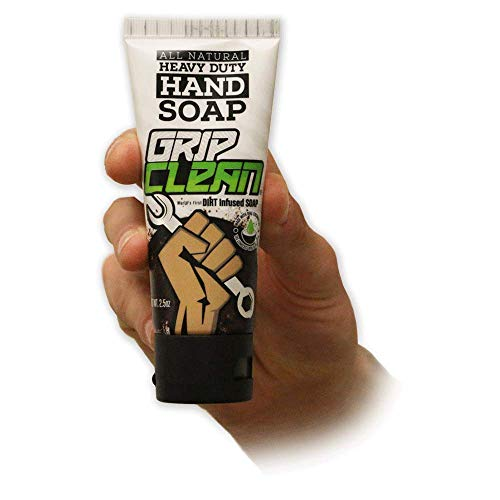 Grip Clean | Dirt Infused Heavy Duty Hand Cleaner - All Natural (Mini Tube) - Hand Cleaner Orange