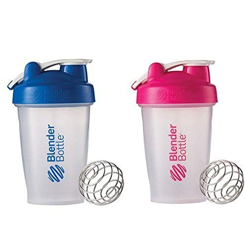 Blender Bottle 2 Pack (Navy|Pink) (Thrive Blender Bottle)