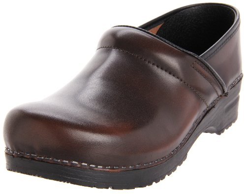 - Sanita Men's Professional Cabrio Clog,Brown,43 EU/9.5-10 M US