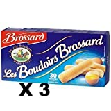 Brossard Lady Fingers - x 3 boxes