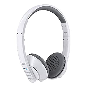 MEE audio Runaway 4.0 Bluetooth Stereo Wireless + Wired Headphones with Microphone (White)