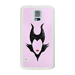 The best gift for Halloween and Christmas Samsung Galaxy S5 Cell Phone Case White Freak badass Maleficent Sleeping Beauty by disney villains VIK9154768