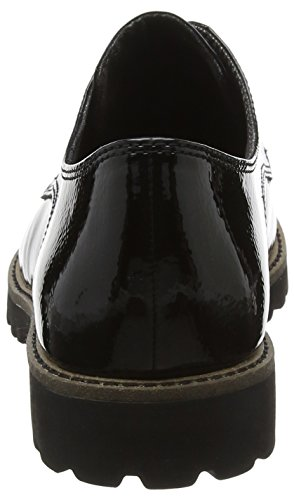Oxford Nero Donna 23214 Tamaris Stringate Patent Black Basse Scarpe qgwBwTcYI