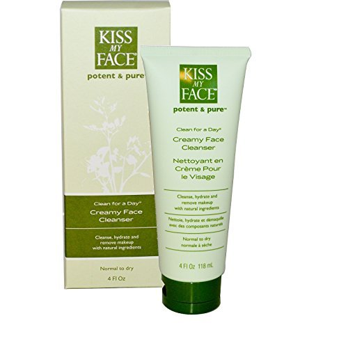 Kiss My Face Creamy Face Cleanser - 4