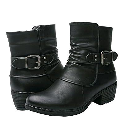Women's KadiMaya1616-1 Boots, Black, 9 B(M) US