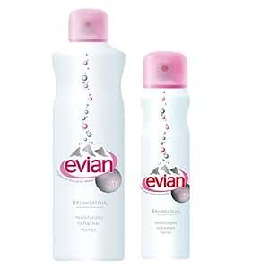 Evian Facial Water Spray 2 Pack $19.00 Value - (5 oz + 1.7 oz)