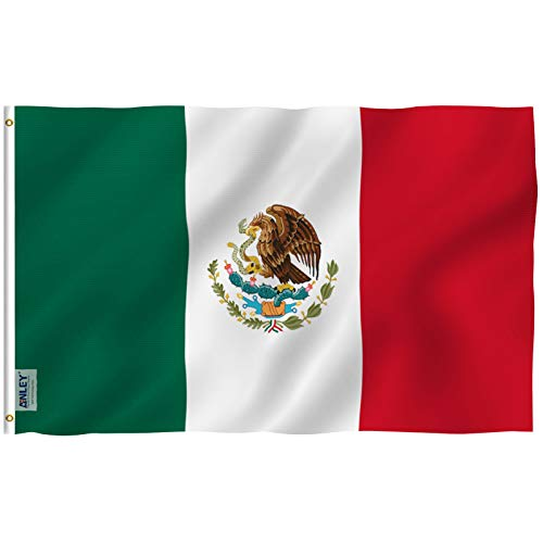 Mexico Flag Polyester 3 ft. x 5 ft