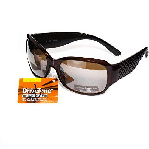 StyleScience DriveTime Sunglasses. 100% UVA &UVB - Stylescience Sunglasses