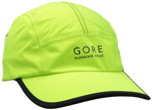Gore Running Wear Men's Air Gore-Tex Active Shell Cap, Neon Yellow, One Size ()