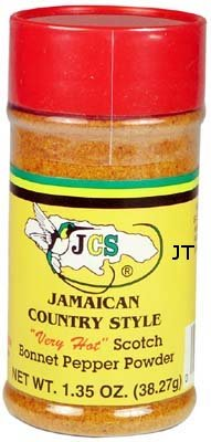 JCS Scotch Bonnet Pepper Powder 1.35 oz (3pack)