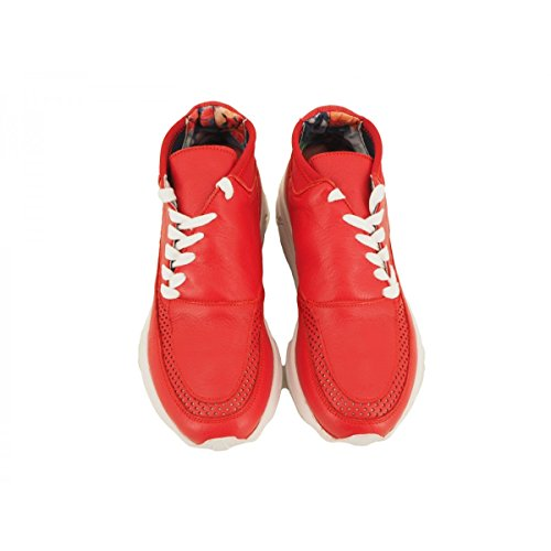 SIDE-P Zapatillas Para Hombre Rojo Rojo