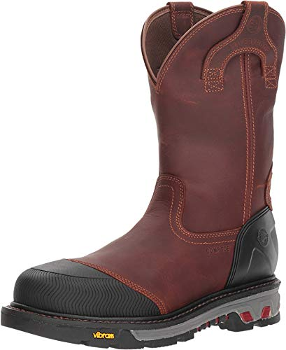 Justin Mens Warhawk Chestnut Square Boot 11D (Justin Boots Stampede Womens)