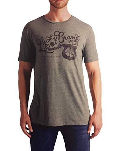 Lucky Brand Men's Graphic Tee (Medium, Shamrock -