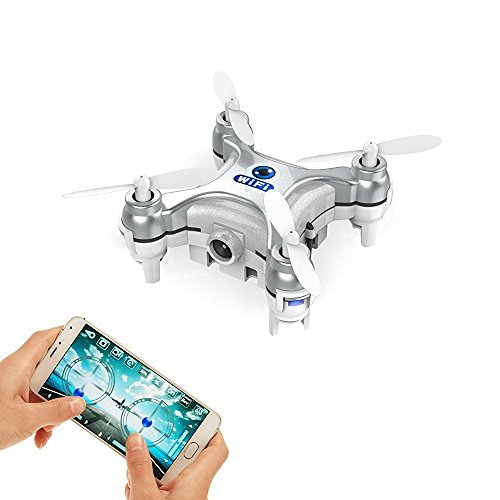 Goolrc Smallest Fpv Drone With Camera Live Video Ios Android App Phone Wifi Remote Control Mini Quadcopter Spy Drone Pocket Drone For Apple Iphone Ipad Samsung Htc