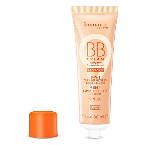 (Rimmel London BB Cream Radiance, 001 Light, 30 ml)