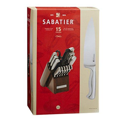 Sabatier 15 Piece Stainless Steel Hollow Handle Knife