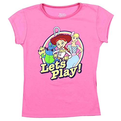 Toy Story 4 Toddler and Little Girls Tee (6/6X) Pink -