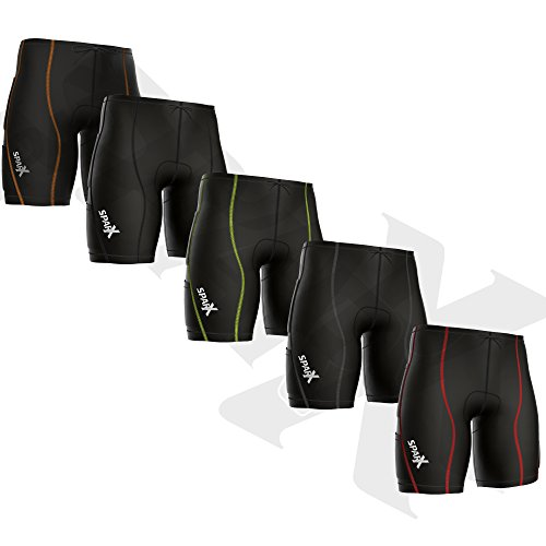 Sparx Energy Compression Triathlon Short Tri Cycling Short Bike Swim Run 7060 (XXL, - Tri Short