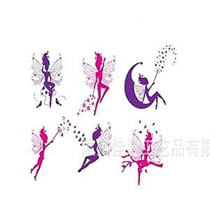 Cartoon Wall Sticker Flower Angel & Fairy Wall Decal