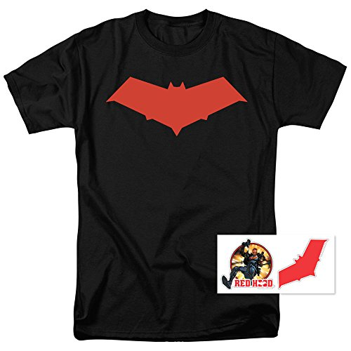 (Red Hood Jason Todd DC Comics Superhero T Shirt)