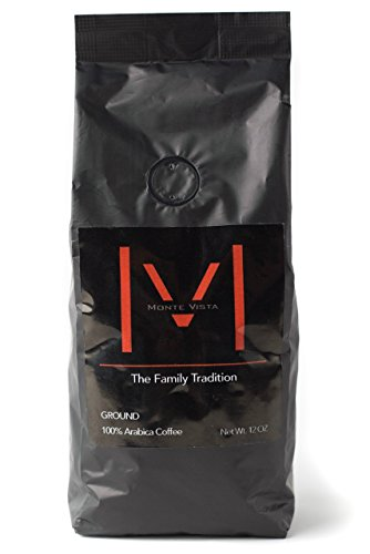 MONTE VISTA CRAFT COFFEE – Honduran Specialty Coffee-MICRO-BATCH ROAST-Medium dark Roast, STRICTLY HIGH GROWN with floral notes and CHOCOLATE FINISH! 12oz