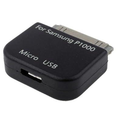 COGODIS - Cargador con adaptador micro USB a 30 pines para Samsung Galaxy Tab (compatible con: Galaxy Note 10.1 GT-N8000, Galaxy Note 10.1 WiFi ...