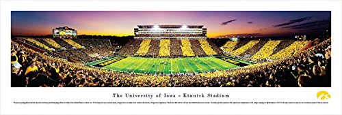 Iowa Football - 50 Yard - Stripe - Blakeway Panoramas Unframed College Sports Posters