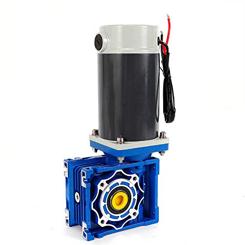 Worm Gear Reducer Electric Motor Automotic Door Motor Robot DC 24V 200KG.cm 300W
