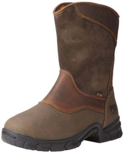 Timberland PRO Men's Excave Met Wellington Work Boot,Brown Tumbled,12 W (Met Mens Boots)