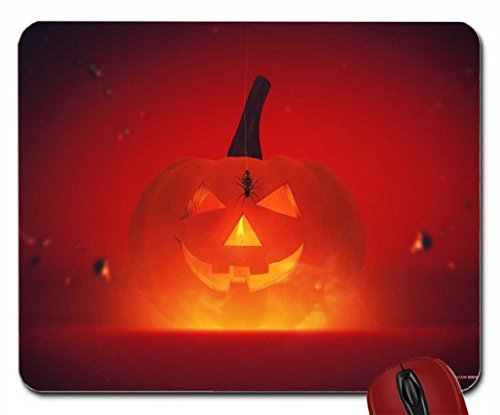 Happy Halloween (Cat Pumpkin Carving) wallpaper mouse pad computer mousepad