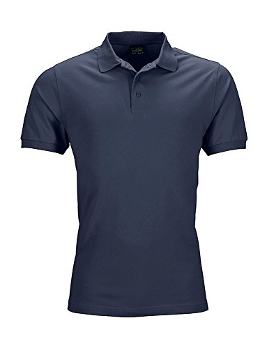 Navy Élastique Homme 2store24 Maille Piquée Polo 8wY10wHvC