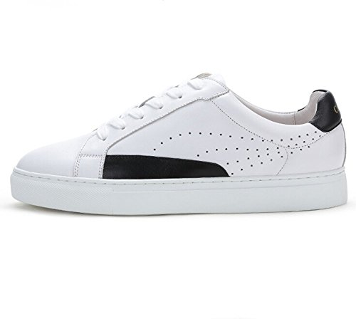 Camel Hombres Classic & Modern Low-tops Sneaker Color Blanco / Negro Tamaño 42 M Ue