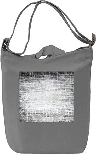 Black and White Full Print Borsa Giornaliera Canvas Canvas Day Bag| 100% Premium Cotton Canvas| DTG Printing|