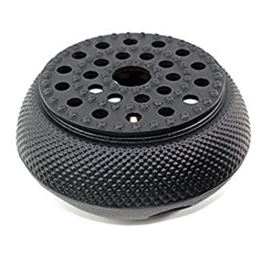 Black Hobnail Small Dot Japanese Cast Iron Tetsubin Teapot Warmer