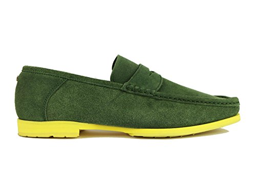 cesare-paciotti-loafer-moccasins-man-green-suede-ah610-8-us-41-eu