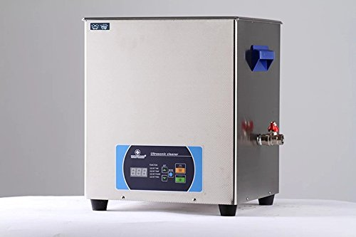 Professional Jewelry Ultrasonic Cleaner 16Liter 300W Time...