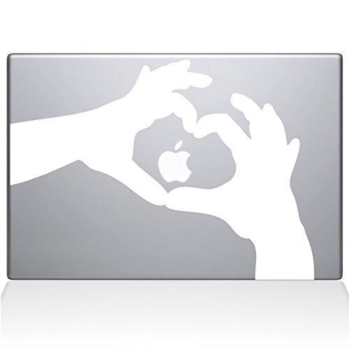 激安/新作 The Decal Guru Love Heart Sticker Hands Macbook Decal B0788MW6Z7 White Vinyl Sticker - 13 Macbook Pro (2016 & newer) - White (1236-MAC-13X-W) [並行輸入品] B0788MW6Z7, アクアサービス株式会社:a1a39b86 --- a0267596.xsph.ru